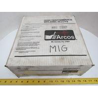 "Arcos YT8706 Nickel Alloy MIG Welding Wire #625 ERNICRMO-3 25Lb .045"""