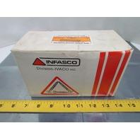 "Infasco 5/16-18 x 3"" Round Head Square Socket/Slotted Machine Screws 100pcs"