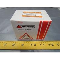 """Infasco 1/4-20 x 1-1/4"""" Flat Head Square Socket Machine Screws 100pcs"""