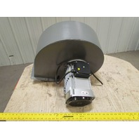 """C45/4T Industrial Centrifugal Fan 220/380V 3Ph 3.1HP 9-3/8"""" Inlet 7-7/8"""" Outlet"""