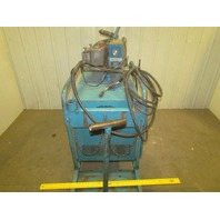 Hobart RC250 250 Amp 3Ph DC Wire Feed Welder w/Cart Cables + Gun 230/460 V 3Ph