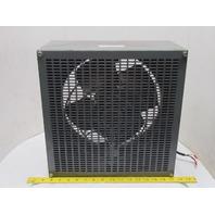 "McLean Engineering 1RB120S38 12"" Blower Fan Enclosure 1PH 115V 1250/1550 RPM"