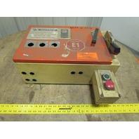 "A-B 512H 20-1/2""W x 13""T x 7""D Jic Box Electrical Enclosure Fused Disconnect"