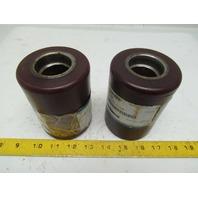 Superior Pallet Jack Load Wheel Tire Cushothane 4-1/2WX3-1/4OD 1.565 Inside Hub