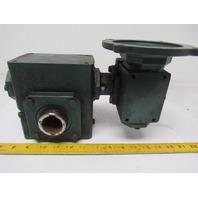 Grove Gear DHMQ220-1C Worm Gear Box Speed Reducer 100:1 Ratio 56C Face