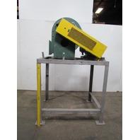 New York Blower Size 194 Centrifugal Fan 10HP 460V 3Ph w/DH Aluminum Wheel