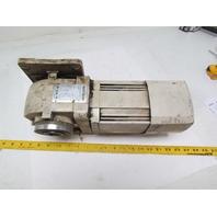Mitsubishi GM-H2FB-RH Geared Electric Motor 1:20 Ratio 3PH 75RPM Shaft 29.70MM