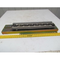 """Westinghouse 250 Amp Buss For Bryant Type Breakers 24 Points 31""""x8"""" Box 30"""