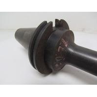 "Precision Componets 50E-10mm-9 Cat 50 End Mill Tool Holder 10mm Bore 9"" Proj"