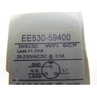 Namco EE530-59400 Inductive rectangular thermoset proximity sensor AC/DC 20-230V