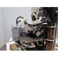 Kwik Print 86  W/ AIR CYLINDER and CUSTOM HEAD Hot Foil stamping embossing print