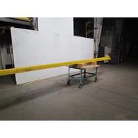 "Konecranes Wall Bracket Jib Crane 1/2 Ton Cap 19'-9"" Long Beam 4"" Flange x 8"""