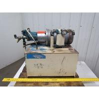 Hydraulic power unit 5HP 3PH 24Gallon Tank w/sight gauge