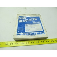 "Brady 60452 Non-regulated waste label 6"" x 6"" vinyl sticker lot of 98 pcs"