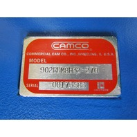 Camco 902RDM8H32-270 Index drive w/2.625 30:1 Right angle reducer