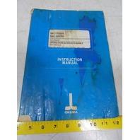 Okuma MC-500H MC-600H OSP7000M Operation & Maintenance Instruction Manual