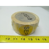 Uline S-8308 Circle months of the year label september roll of 500 2""