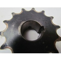 """Browning 5014HX1 Finished 1"""" bore single sprocket 14 tooth 3.105"""" OD"""
