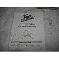 Tweco Robotics Quick Robotics Series Owners Manual