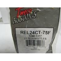 Tweco Robotics REL24CT-75F 1240-1317 Nozzles 2 Pack