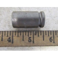 "Apex 13MM13 13 mm 6 pt 3/8"" Sq Drive 1 1/2"" Long Socket NEW"