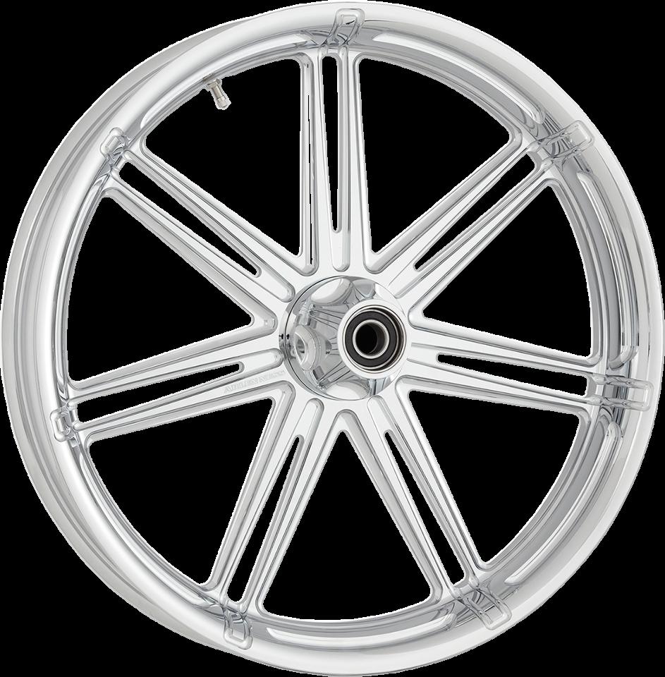 arlen ness chrome 7 valve abs 23 u0026quot  x 3 5 u0026quot  front wheel for