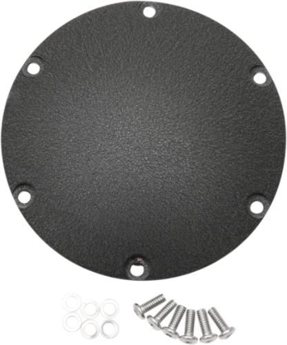 Drag Specialties 6 Hole Flat Black Derby Cover 04-18 Harley Sportster XL XL50