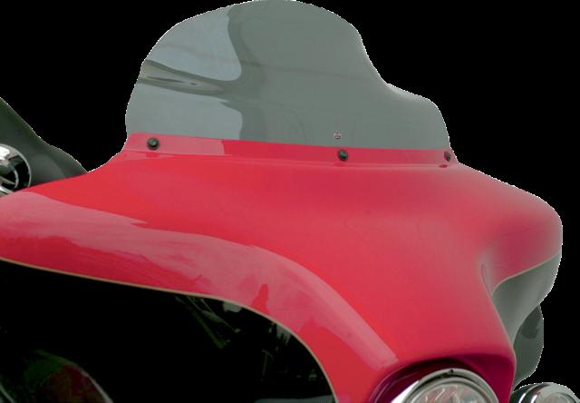 "Klock Werks Dark Smoke 8.5"" Flare Windshield For 96-13 Harley Flhx Flh Flhtcu"