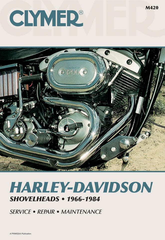 Clymer Service Repair Manual for Harley Davidson 66-84 Shovelhead FX FXSB  FL FXB   JT's CYCLESJT's CYCLES