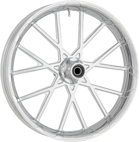 "Arlen Ness Procress Chrome ABS 26""x 3.5"" Front Wheel for 08-19 Harley Touring"