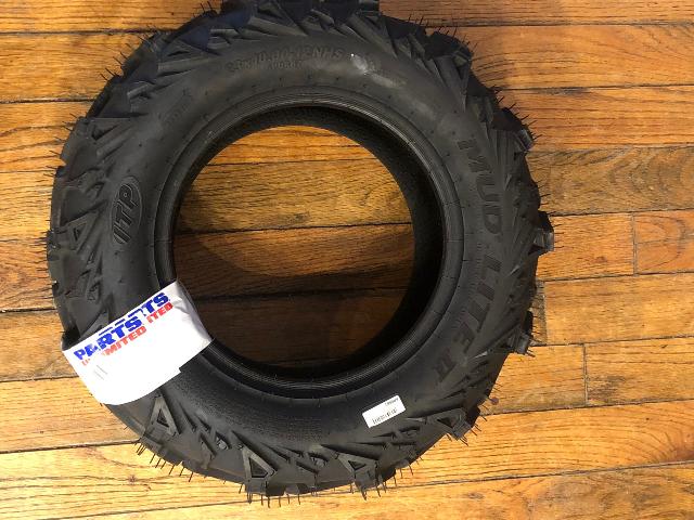 ITP Black 6P0887 Mud Lite II Rear Tubless 23x10-12 ATV UTV 6 Ply Utility Tire