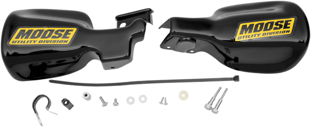 "Moose Utility Black 7/8"" ATV Hand guards For 01-17 Honda Rancher 4x4 Rubicon"