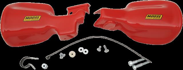 "Moose Utility Red 7/8"" ATV Hand guards For 01-17 Honda Rancher 4x4 Rubicon"