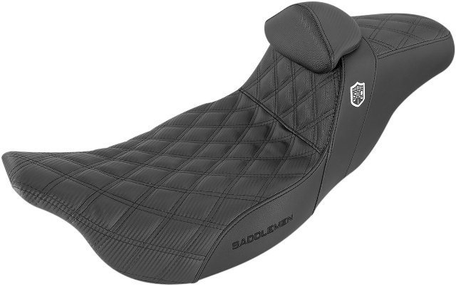 Saddlemen SDC Performance Motorcycle Seat & Backrest 08-20 Harley Touring FLHX