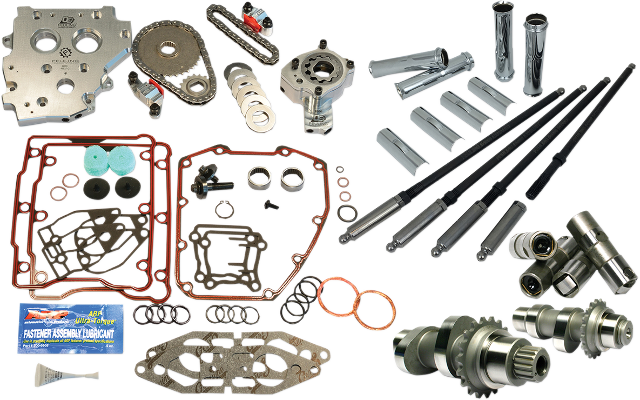 Feuling OE+ 525 Cain Camchest Kit 99-06 Harley Dyna Touring Softail Twin Cam