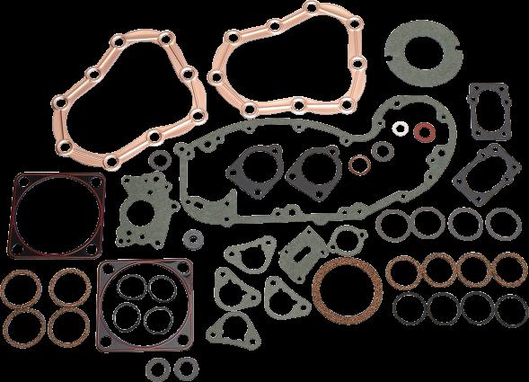 "James Gasket Engine Motor Gasket Oring Kit 36-48 Harley Flathead 80"" ULH 74"" VLH"