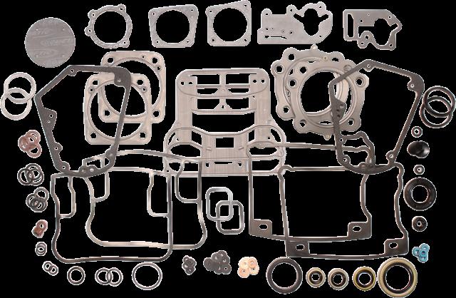 "Cometic 3 1/2"" EVO Engine Gasket Kit 92-00 Harley Dyna Touring Softail FXR4 FXDL"