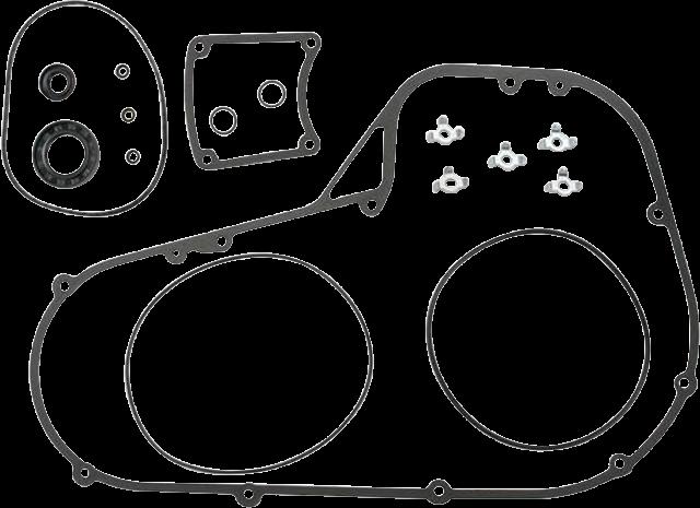 Cometic C9888 Aluminum Foam Primary Gasket Kit for 94-06 Harley Touring FLHX FXR