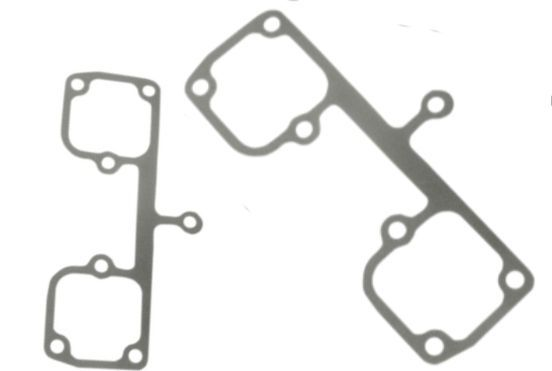 James Gasket Pair Metal Rocker Box Cover Gaskets 57-85 Harley Sportster XLH