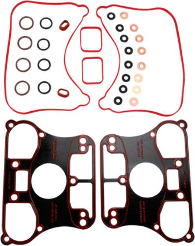 James Gasket Rubber Rocker Box Cover Gasket Kit for 07-19 Harley Sportster XL