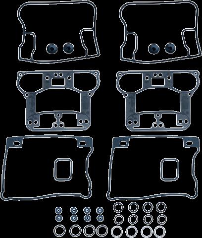 S&S OEM Rubber Rocker Box Gasket Kit for 92-99 Harley Davidson EVO Big Twin