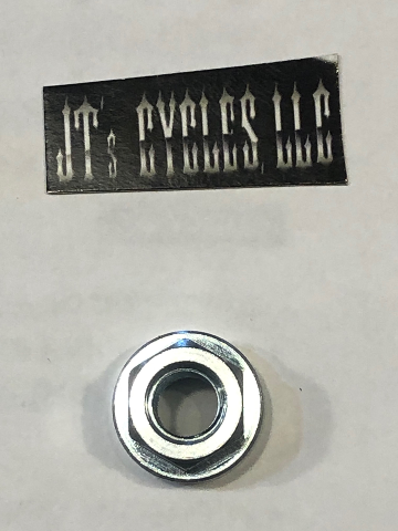 James Gasket Single Chrome Exhaust Nut for Harley Evo & Twin-Cam Engines
