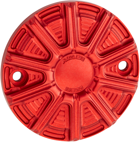 Arlen Ness Red 10 Gauge 2 Hole Points Cover 18-20 Harley Touring Softail FXDR
