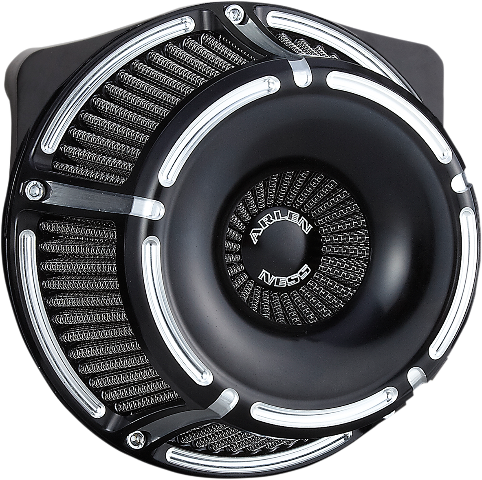 Arlen Ness Black Inverted Air Cleaner Filter 99-17 Harley Dyna Touring Softail