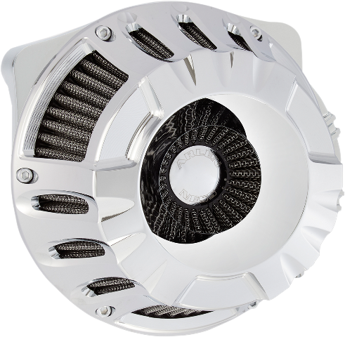 Arlen Ness Chrome Inverted Air Cleaner Filter 08-17 Harley Touring Softail FXSB