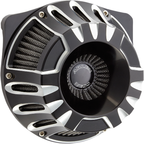 Arlen Ness Black Inverted Air Cleaner Filter 08-17 Harley Touring Softail FXSB