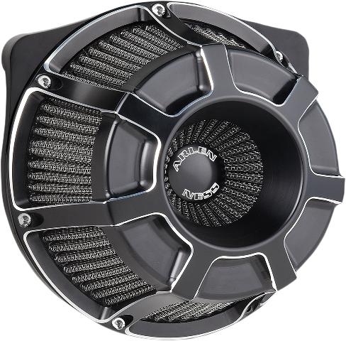 Arlen Ness Black Beveled Inverted Air Cleaner Filter 88-19 Harley Sportster XLH