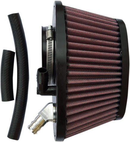 Trask Red Power Flow Gauze Air Filter for 14-19 Indian Scout Bobber Sixty