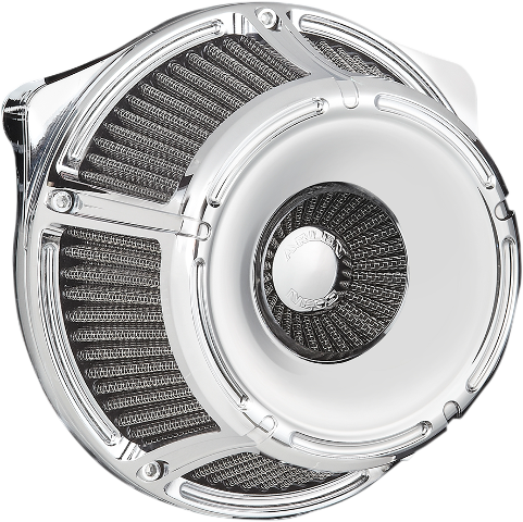 Arlen Ness Chrome Inverted Air Cleaner Filter Kit 17-19 Harley Touring FLHR FLHX
