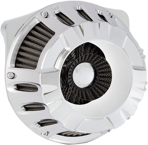 Arlen Ness Chrome Inverted Air Cleaner Filter 17-18 Harley Touring Softail FLHX
